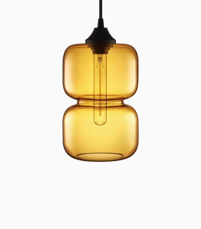 contix|media Demoshop Produkt Lampe Hourglass Gelb